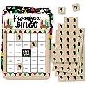 18-Set Big Dot of Happiness Happy Kwanzaa Bingo Cards & Markers