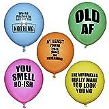 ROFLmart Rude Happy Birthday Party Balloons