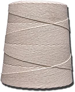 T.W Evans Cordage 06-300 30 Poly Cotton Twine 2-Pound Cone, 1250-Feet
