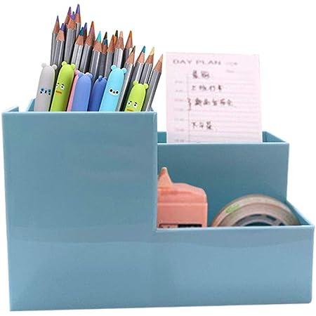 Multi-funktions Stifthalter 9x4x5inch Kreativstift veranstalter student s/ü/ße schreibwaren schreibtisch organizer b/üro stift bleistift halterschale-pinke Katze 22x11x12cm