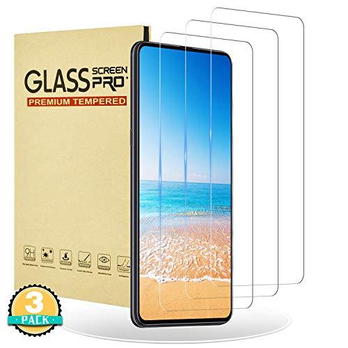RIIMUHIR Cristal Templado para Xiaomi Mi Mix 3,[3 Unidades],Dureza 9H,Resistente a Arañazos y Golpes,Anti Huella Digital,Compatible con 3D Touch de Xiaomi Mi Mix 3