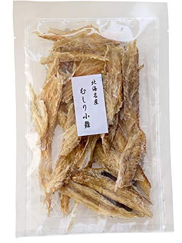 むしりこまい80g(北海名産 むしり小舞 むきこまい)北海道産氷下魚使用(コマイ カンカイ)叩く・開く・ちぎる 不要(氷下魚珍味 乾燥チンミ むき氷下魚)
