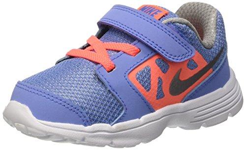 Nike Mädchen Downshifter 6 Td Babyschuhe, Azul / Naranja / Gris, 23.5 EU