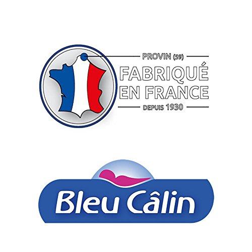 Bleu Câlin OMFW75060 Oreillers Mémoire de Forme Blancs 60 x 60 cm set de 2