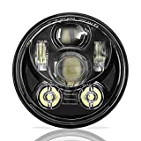 SUNPIE Motorcycle 5-3/4 5.75 LED Headlight for H arley 883,sportster,triple,low rider,wide glide Headlamp Projector Driving Light