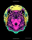 Vaporwave Werewolf: Werewolf Fierce Wolf Mythical Creature Majestic Beast 2021-2022 Weekly Planner & Gratitude Journal (110 Pages, 8' x 10') Calender ... Notes, Thankfulness Reminders & To Do Lists