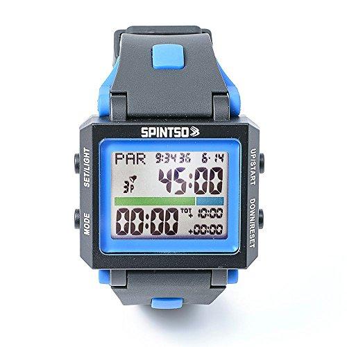 SPINTSO Watch 2X blau Profi Schiedsrichter-Armbanduhr