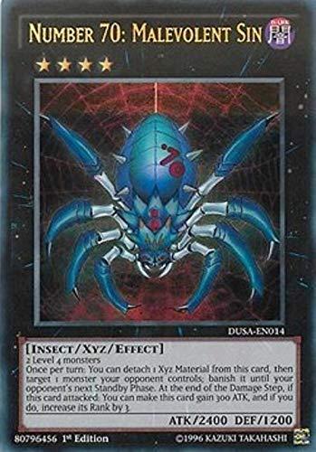 Carte Yu-Gi-Oh! - Saga dei Duellanti - Numero 70: Peccato Malevolo DUSA-IT014