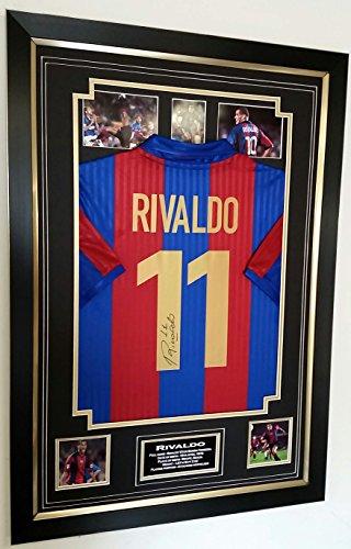 Rivaldo Trikot-Autogramm, signiert