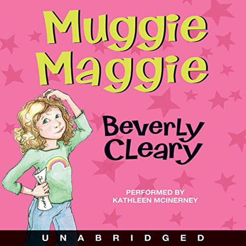 Muggie Maggie  by Beverly Cleary - A curse on cursive! Maggie doesn't really mean it when she vows never to read and write those wiggly, squiggly, roller-coaster letters. After all, she uses the computer....