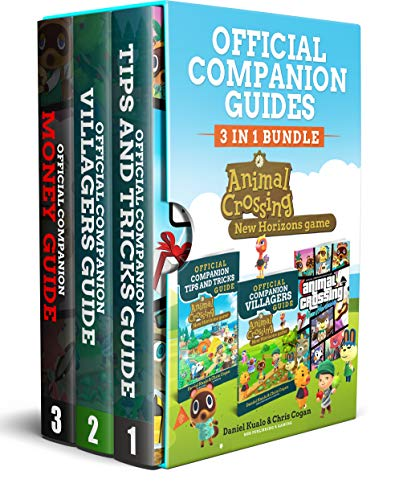 Animal Crossing New Horizons: 3 Books In 1: Companion Tips & Tricks , Villagers, Money Guides -: Everything you need to grasp to create your best possible island! (Animal Crossing New Horizons Guides)