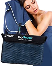 2 Pack - Large and Medium - Luxury Travel Towels - The Perfect Quick Dry Towel, Camping Towel, Sports Towel, Travel Towel, Microfiber Beach Towel, Gym Towel, Microfiber Towels for Body