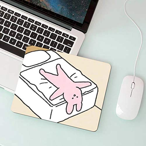 Bed Rabbit Optimized for Gaming sensors Gaming Mouse pad Ergonomics Rubber Printing High-Performance Mouse pad Made of Neoprene Home Office Supplies ✓