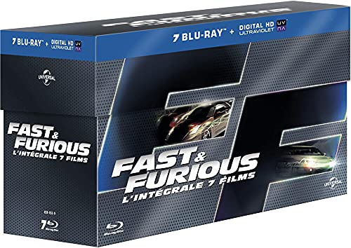 Fast And Furious L'Integrale 7 Films (7 Blu-Ray) [Edizione: Francia]