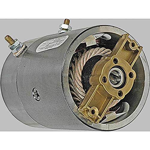 New DB Electrical MUE6308 12V Prestolite DC Motor Compatible With/Replacement For MTE Hydraulics Various CCW Rotation 39200475 PRL-MUE6308