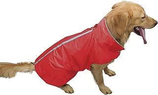 PETCEE Waterproof Dog Jacket, Soft Fleece Lined Dog Coat for Winter, Outdoor Sports Pet Vest Snowsuit Apparel Double Surface