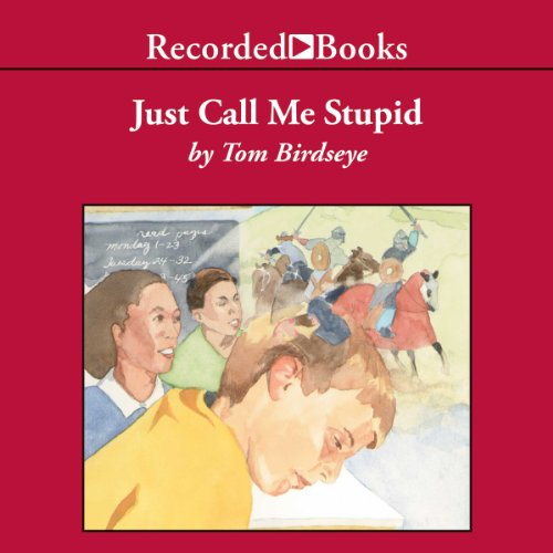Just Call Me Stupid audiobook cover art