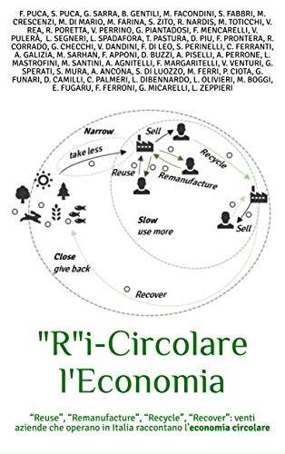 """'R'i-Circolare l'Economia: """"Reuse"""", """"Remanufacture"""", """"Recycle"""", """"Recover"""": ventuno aziende che operano in Italia raccontano l'economia circolare"""