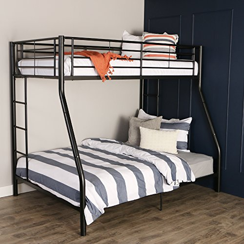 Walker Edison Twin-Over-Full Metal Bunk Bed
