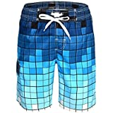 QRANSS Mens Swimming Trunks with Mesh Lining...
