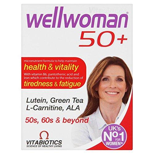 Vitabiotics Wellwoman 50+ 30 per Pack