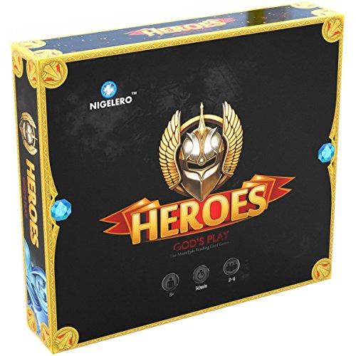 Heroes: God's Play Card Board Game