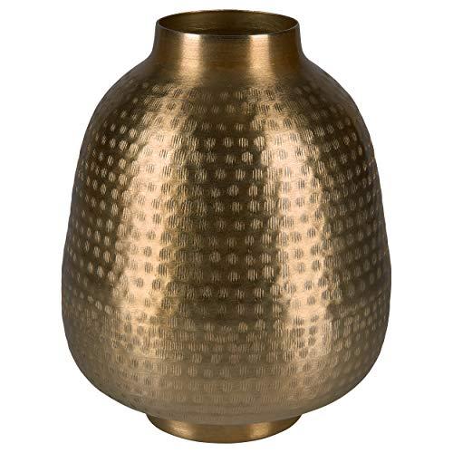 CREATE! by OBI Vase Safari Lodge Aluminium 27 cm x Ø 22 cm Gold