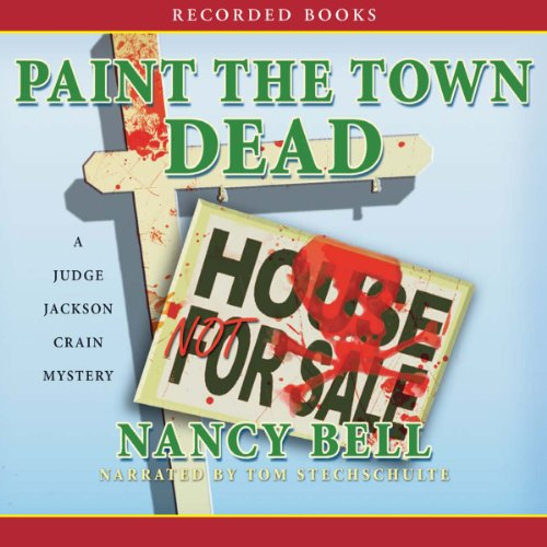 Paint the Town Dead audiobook cover art