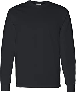 Heavy Cotton 100% Cotton Long Sleeve T-Shirt.