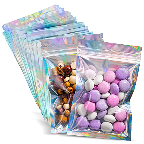"""100 Pieces Mylar Bags - 4 X 6"""" 