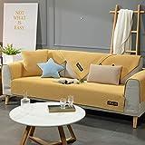Hybad Funda Chaise Longue Acolchado,L-Shaped Cool Sofa
