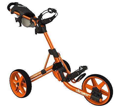 Clicgear Chariot 3.5 Orange Golf Mixte, Taille Unique