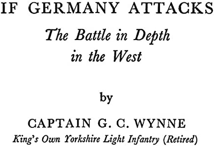 If Germany Attacks: The Battle in Depth in the West