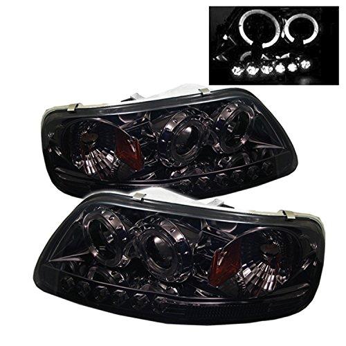 Spyder Auto 5010285 LED Halo Projector Headlights Chrome/Smoked