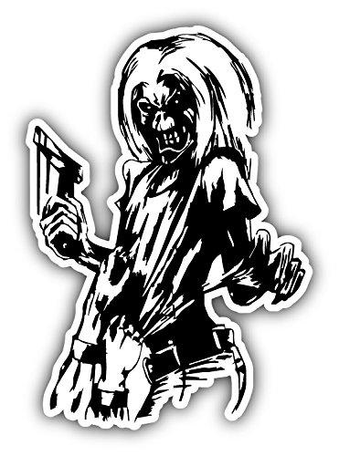 Iron Maiden Killers Car Bumper Sticker Decal 4'' x 5''