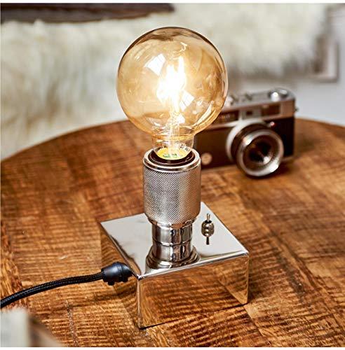 Riviera Maison - Lobby Loft Lamp - Tischlampe - Aluminium, Eisen - Ø 10 - Höhe 13 cm