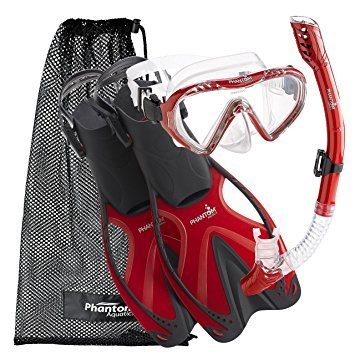 Phantom Aquatics Speed Sport Junior Mask Fin Snorkel Set
