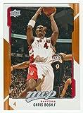 4 Chris Bosh Cards 08/09 Topps Chrome #134 04/05 Fleer Skybox L.e. #32 08/09 Ud Mvp Team Mvp #198 05/06 Topps #160 Toronton Raptors Basketball Cards