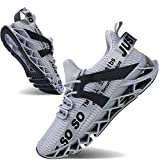 Mens Running Shoes Non Slip Athletic Walking...
