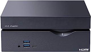 ASUSTek デスクトップミニパソコン (Core i5-10400/8GB(最大:64GB)/HDD 1TB/Windows 10 Home 64ビット)【日本正規代理店品】 VC66-C2B5024ZN ブラック