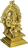South Indian Goddess Durga-Mariamman - Brass Statue