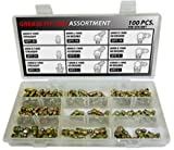Metric Grease Fitting Kit - 100 Piece Assortment