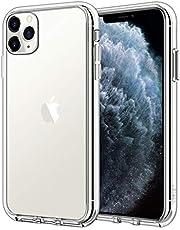 JEDirect Apple iPhone 11 Pro Max ケース (2019 モデル 6.5インチ専用) 衝撃吸収 バンパーカバー 傷つけ防止 クリアバック (HD クリア)