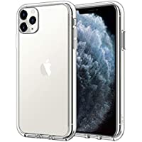 "JETech Funda Compatible Apple iPhone 11 Pro (2019) 5,8"", Carcasa Anti-Choques y Anti- Arañazos, Transparente"
