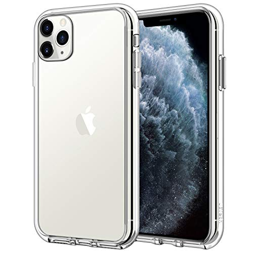 Jetech Funda Compatible Apple iPhone 11 Pro (2019) 5,8', Carcasa Anti-Choques y Anti- Arañazos, Transparente