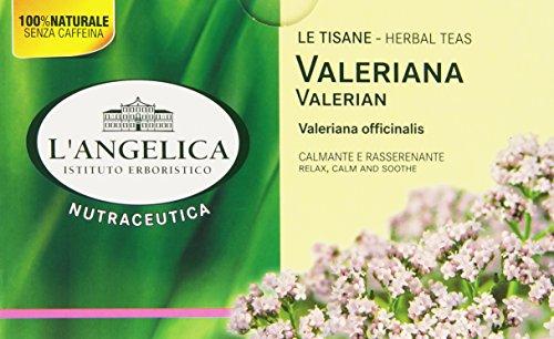 L'Angelica, Tisana Valeriana, Tisana Funzionale a Base di Valeriana, Azione Calmante, Rilassante e...