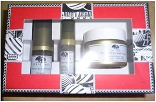 Origins Plantscription Power Set: Anti-aging Power Serum + Anti-aging Power Eye Cream + 1 oz Powerful Lifting Cream