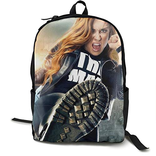 Travel Laptop Backpack WWE Becky Lynch School Bookbags Casual Hiking Daypack
