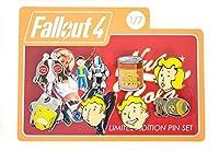 Fallout 放射性降下物絵文字コレクターピン7のセット1 小さい 多色の
