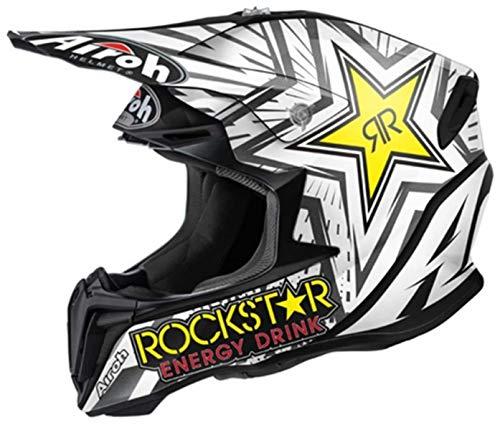 Casco Off-Road Airoh Twist Rockstar Mate Para Moto